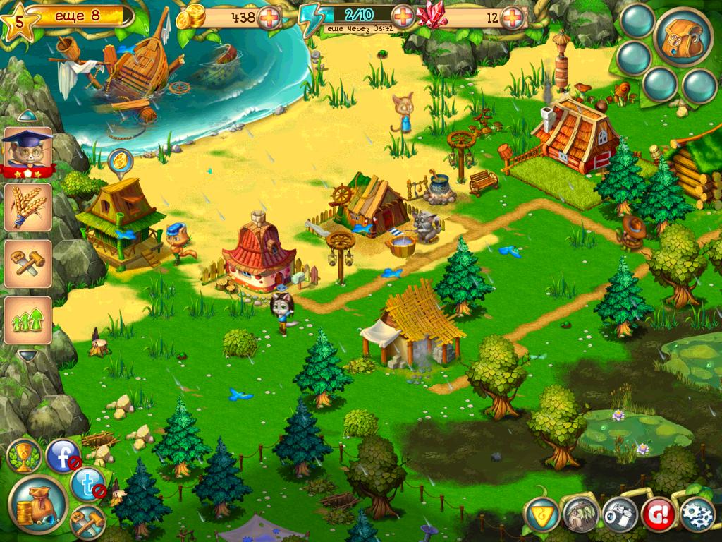 Веселая ферма для 3 для андроид